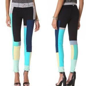 J Brand - Slick Colorblock Jeans